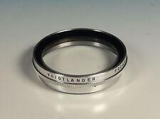Voigtländer 49mm Focar 0 Nahlinse F=2m A R close up lens für 342/49 - (203946)