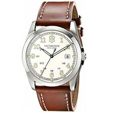 Swiss Army Infantry Men's Leather Watch 241564 in Mail in 2 Hours