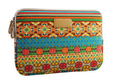 """Bohemian 17.3""""17.4""""Canvas Case Laptop Sleeve Pouch PC Notebook Skin Bag For Dell"""