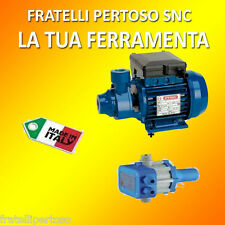 ELETTROPOMPA PERIFERICA AUTOCLAVE SPERONI SPA + PRESSCONTROL, MADE IN ITALY