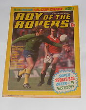 ROY OF THE ROVERS COMIC 9TH MAY 1981 TREVOR FRANCIS OF NOTTINGHAM FOREST