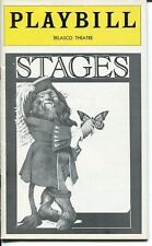 Jack Warden Tom Aldredge Philip Bosco Stuart Ostrow Stages Playbill