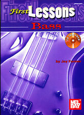 First Lessons Bass Guitar Book and CD