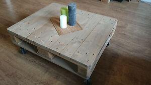 Couchtisch Palettentisch Upcycling Tisch Europaletten Shabby Chic