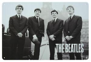 The Beatles LIVERPOOL 62 Metal Wall Sign Steel Plaque Bar Gift (20cm x 30cm)