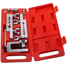 Flaring And Swaging Hvac Tool Kit Flares Refrigeration Copper Tubing Handy Set