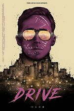 Drive Alternative Movie Poster by Mondo Artist Nikita Kaun No. /140