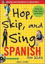 Hop, Skip, and Sing Spanish for Kids by Ana Lomba (2006, Mixed Media)
