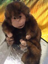 'FOLKTAILS' Furry Folk Puppets Plush Cute Rainforest Monkey Hand Puppet