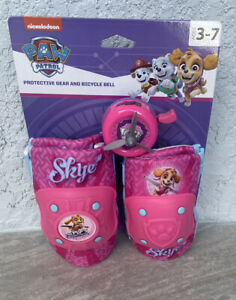 Nickelodeon PAW Patrol Protective Gear and Bicycle Bell Knee Elbow pads Skye Pup
