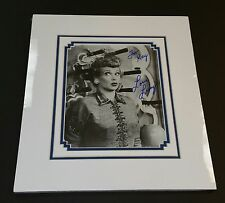 """"""" Lucille Ball""""/ Custom Matted Autographed Photo."""