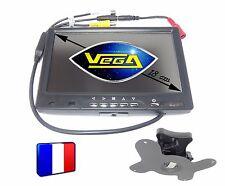 ► Moniteur TFT LCD couleur 18 cm 2 entrées vidéo surveillance caméra recul ◄