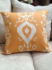 """Savelle/Tullahoma Ikat/Copper Pillow Cover/$25.00 ea.- 2 available /20"""" x 20"""""""