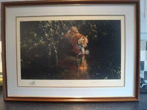 DAVID SHEPHERD  'BURNING BRIGHT' Framed Limited Edition Print