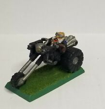 Warhammer 40k Space Dwarf Rogue Trader Squat Guild Master Trike Metal Rare #16
