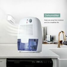 Mini Space Dehumidifier with Auto Shut Off Quietly Extracts Moisture Portable