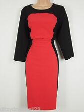 BNWT Savoir Confident Curves Secret Support Illusion Wiggle Pencil Dress Size 14