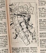 Comic Reader #212 Street Enterprises Early Beta Ray Bill Appearance!