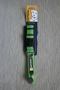 """Ruffwear Crag Reflective Collar Green Size M 14-20"""" 36-51 cm"""