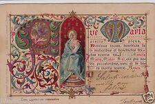 """# """"L'AVE MARIA"""" 1903- ediz. Oneglia (TO)- litografia a colori"""