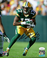 PACKERS Davante Adams signed photo 8x10 JSA COA AUTO Autographed Rookie Year