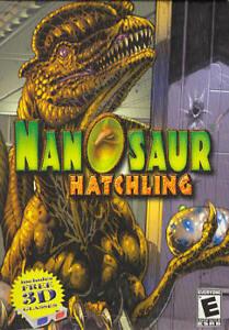 Nanosaur Hatchling (Classic PC Game) Pterodactyl Dinosaur (save the eggs!)