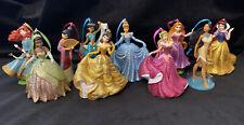 Disney Princesses Christmas Ornament Set Belle Cinderella Tiana Merida Jasmine