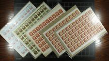 Weeda Canada Olympic Stamp collection with panes Face value $651.12 FV, Huge CV!