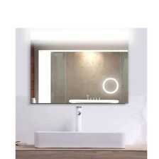 Free Shipping! MUGO Bathroom LED Lighted Mirror, touch-switch, Magnifying,32*24""