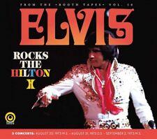 ELVIS PRESLEY - ELVIS ROCKS THE HILTON  -  Straight Arrow Label