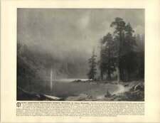 Bierstadt Albert ~ œuvre ancienne ~ Mount Corcoran (Sud de la Sierra, Nevada)