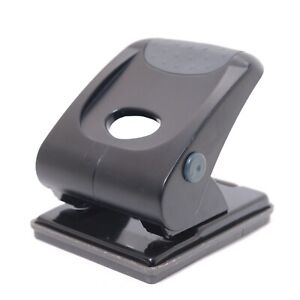 Marbig 88032 - 2 Hole Heavy Duty Paper Punch 35 Sheet Black in Good Condition