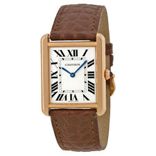 Cartier Solid Gold Case Wristwatches