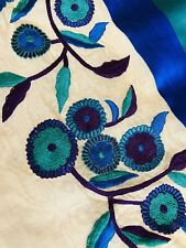 New Embroidery Silk Border Saree -Designer Blouse Wedding not Kanchi pattu Party