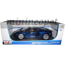 Maisto 31702 Special Edition Lamborghini Aventador Lp 700-4 1/18 Diecast Blue