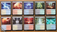 Dual Bounce Lands 10x Lot Full Set - Commander 2016 *Unplayed NM* (English MTG)