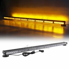 "50"" 96 Led Warning Emergency Signal Response Safety Truck Amber Strobe Light Bar"