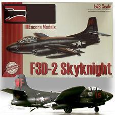 ENCORE 1/48 DOUGLAS F3D-2 SKYNIGHT VIETNAM ERA JET NIGHT FIGHTER W RESIN