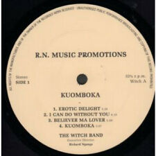 WITCH (AFRO ROCK BAND) Kuomboka LP VINYL R.N.Music Promotions 8 Track Original