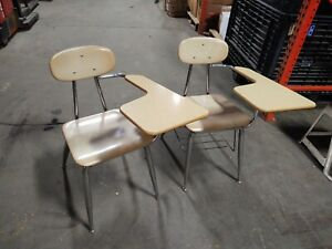 LOCAL PICKUP ONLY Vintage Home School Student Middle High Combo Seat Chair Desk