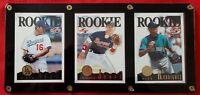 1995 Score Summit Ed Rookie Cards Hideo Nomo, Chipper Jones, Alex Rodriguez MINT