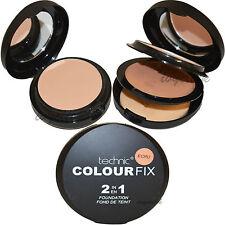 Technic colore Fix 2 in 1 ECRU PRESSATO POLVERE E Crema Fondotinta Makeup Offerta