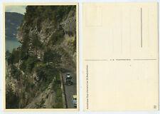 66108 - Autostraße Thun-Interlaken bei St. Beatenhöhlen - alte Ansichtskarte