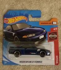2019 Hot Wheels Nissan Skyline Gt-R (Bnr32) blue