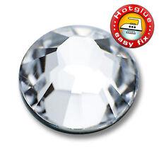 100 SWAROVSKI® Kristalle 2038 Hotfix, Crystal, SS6 (Strass Steine zum Aufbügeln)