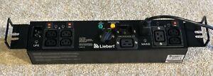 Liebert 16A Maintenance bypass switch - 12 Month RTB warranty