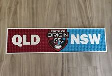 State of Origin NSW vs QLD pvc rubber bar mat runner barmat