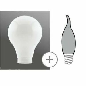 Paulmann 875.78 Deco Glas Minihalogen AGL weiß Basic Komponente 87578
