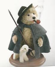 "STEIFF ""TEDDY BEAR SMOKER BEAR SHEPHERD WITH LAMB"" EAN 037153 JOINTED SMOKER"