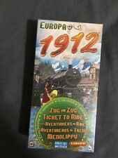 Ticket To Ride: Europa 1912 Expansion Europe Board Game Days Of Wonder
